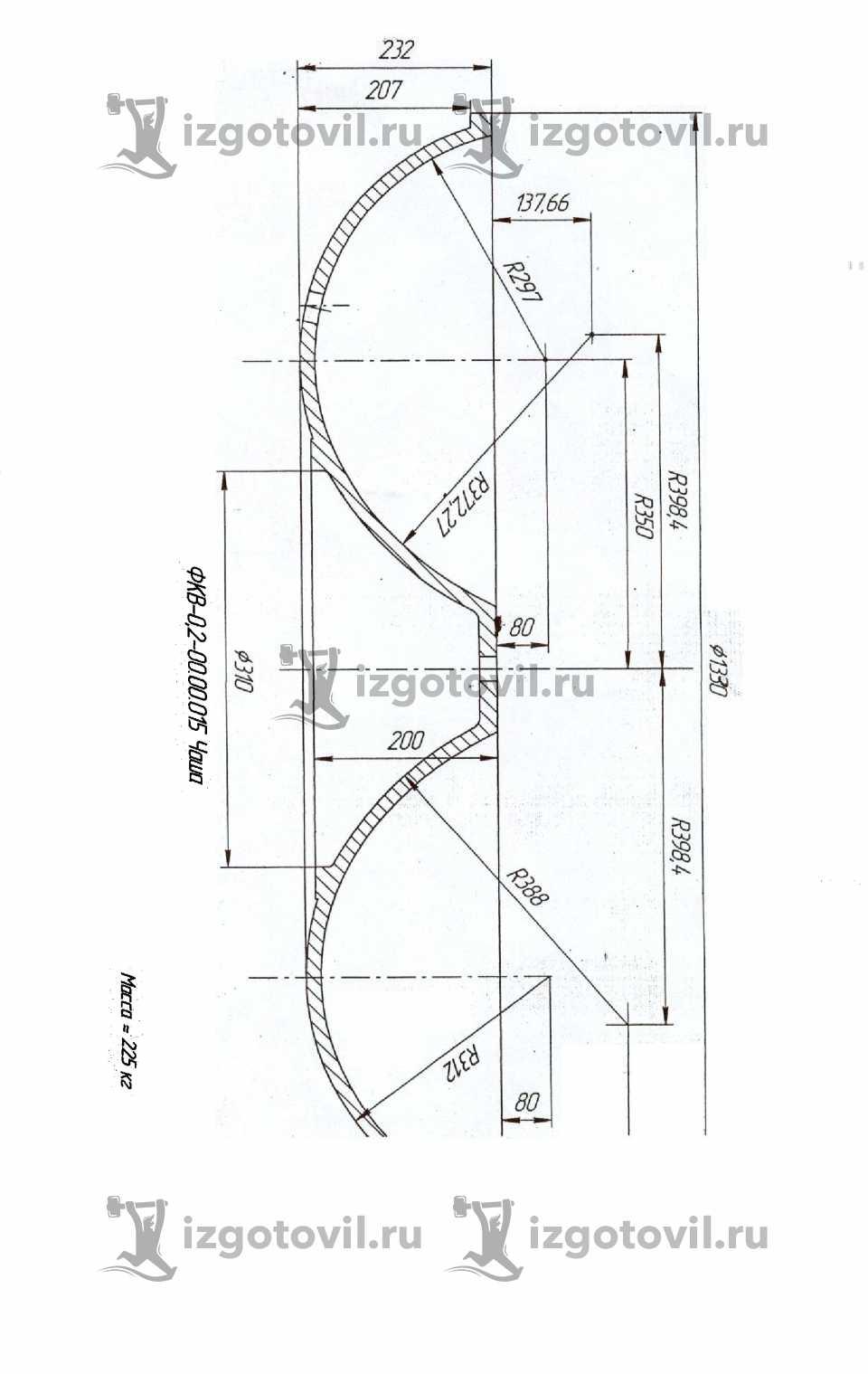 Литейное производство - Чаша