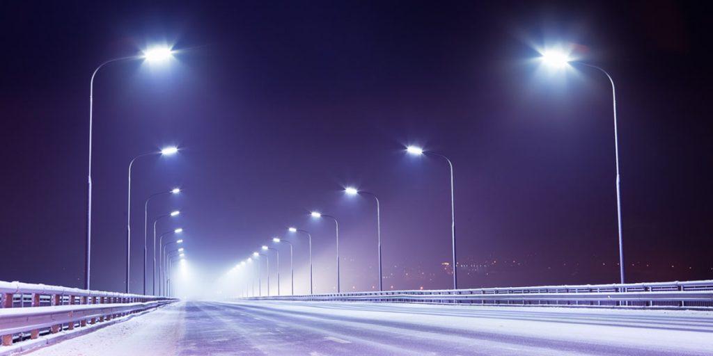 Консольные уличные светодиодные светильники - СКУ