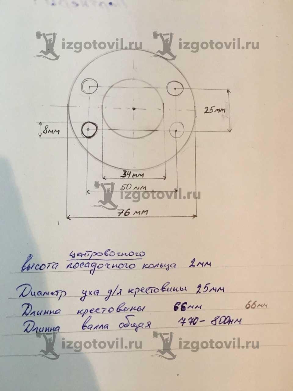Токарная обработка ЧПУ - изготовить кольцо