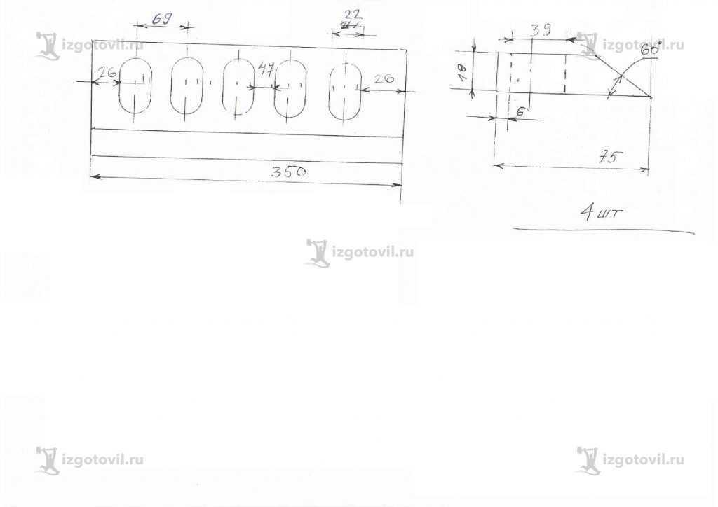 Фрезерная обработка: изготовление ножей.