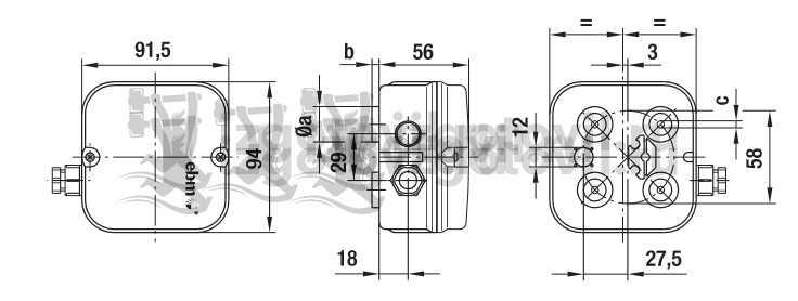 Изготовление деталей на заказ (2E200-CF02-27 клеммные коробки / конденсаторы ).