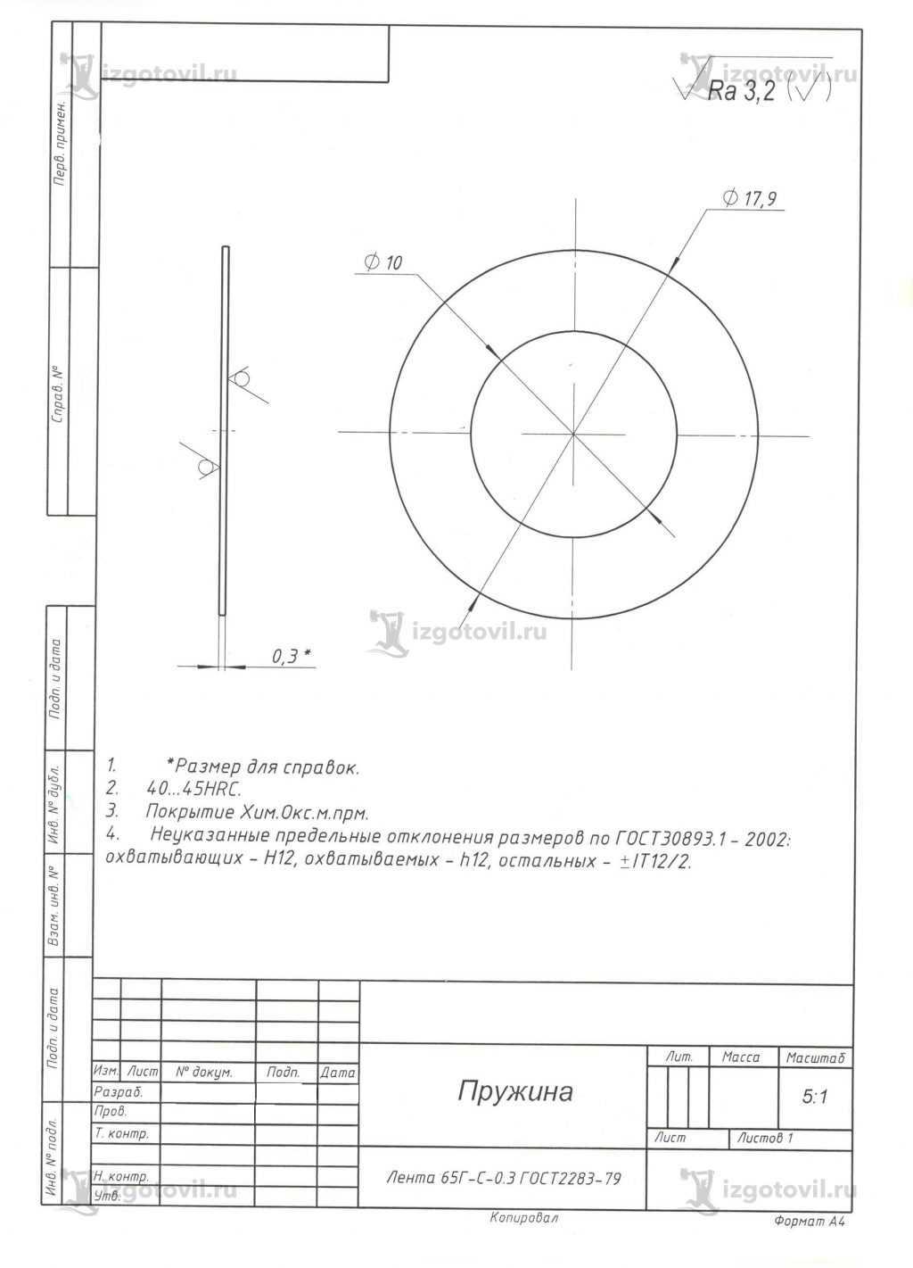 Лазерная резка: изготовление пружин