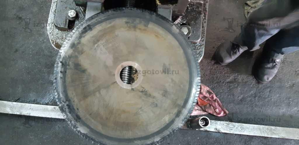 Изготовление деталей из металла (отрезной диск по металлу)
