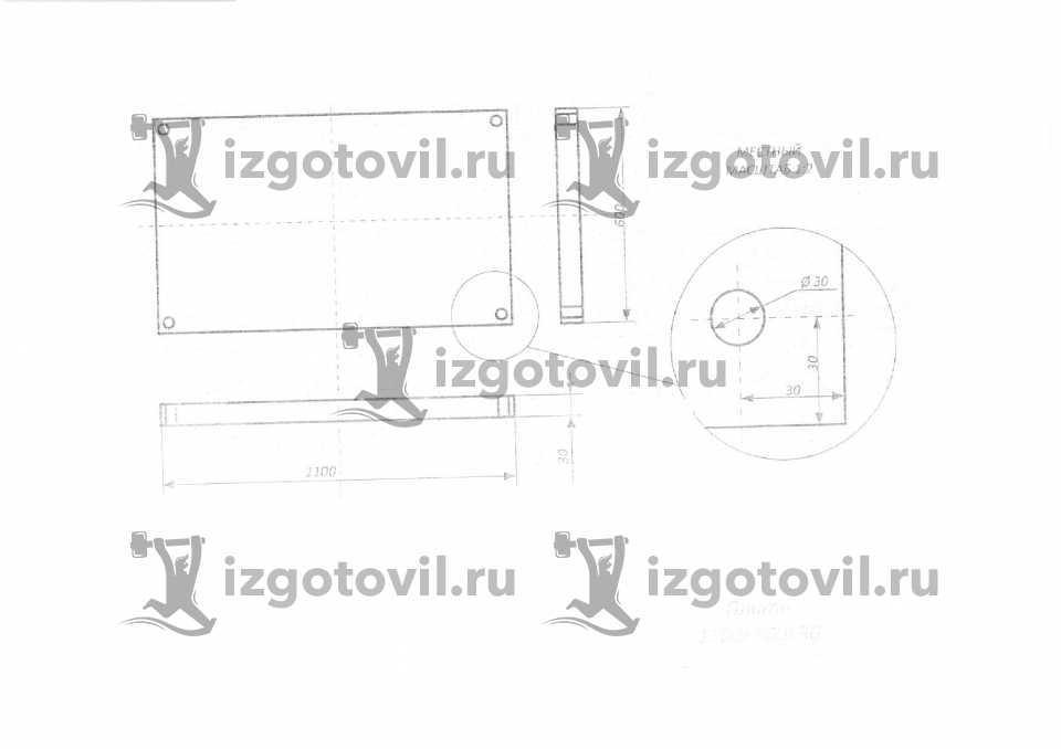 Фрезеровка - изготовление плит