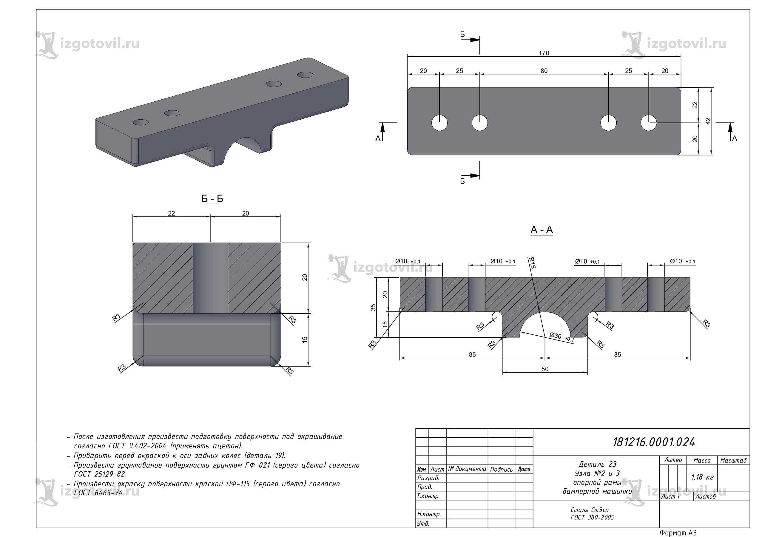Фрезерная обработка: изготовление деталей