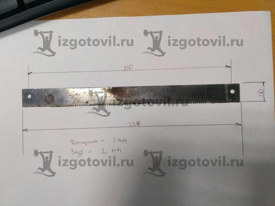 Лазерная резка - изготовление ножа