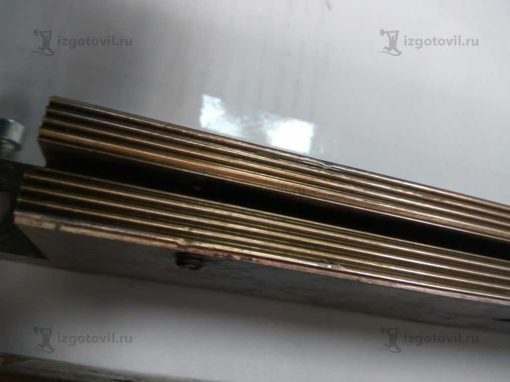 Фрезеровка ЧПУ губок спаичных с регулировкой