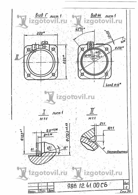 Фрезеровка - изготовить фланцы