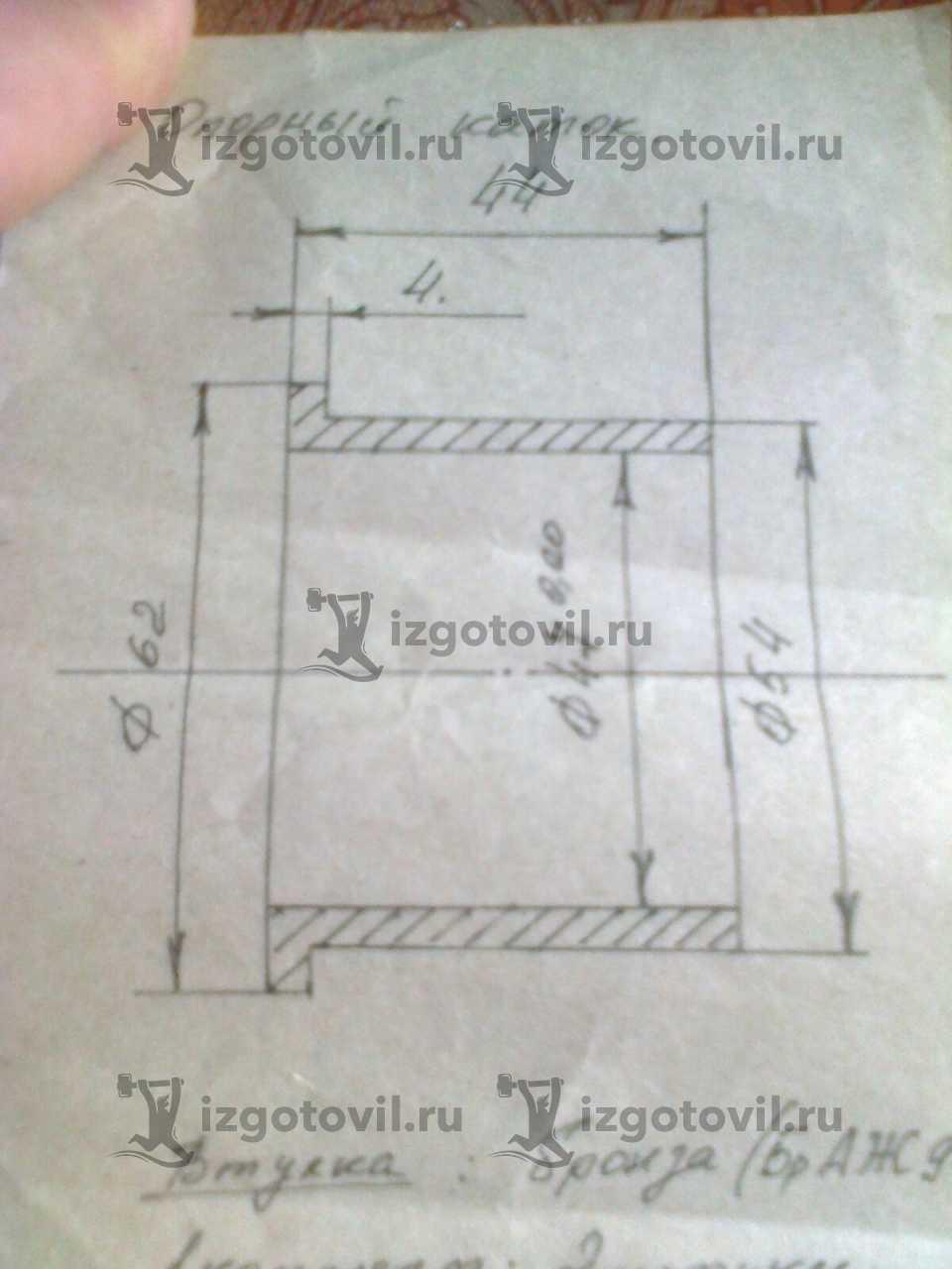 Токарная обработка металла - изготовить катушку