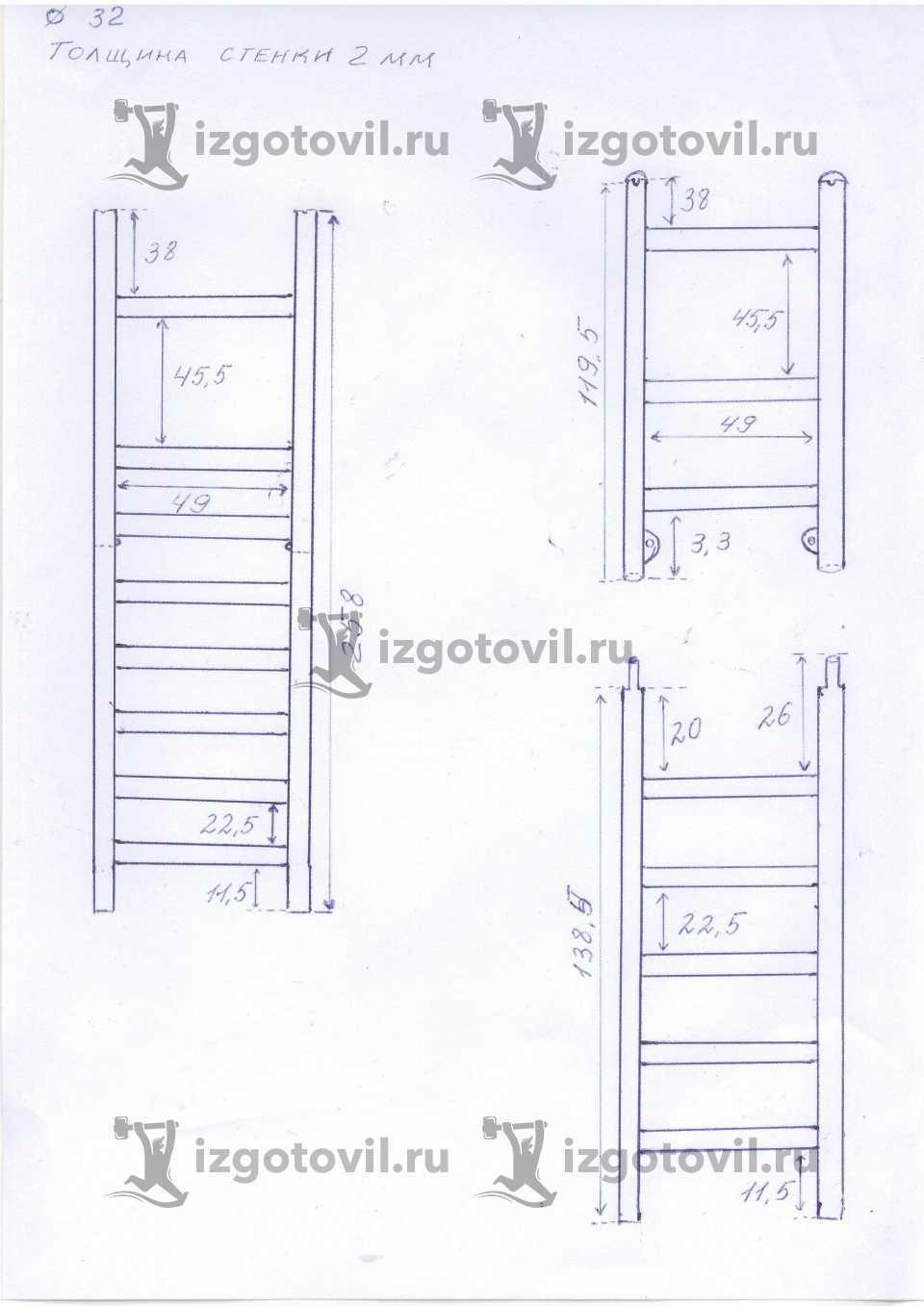 Изготовление металлоконструкций - изготовить лесенки