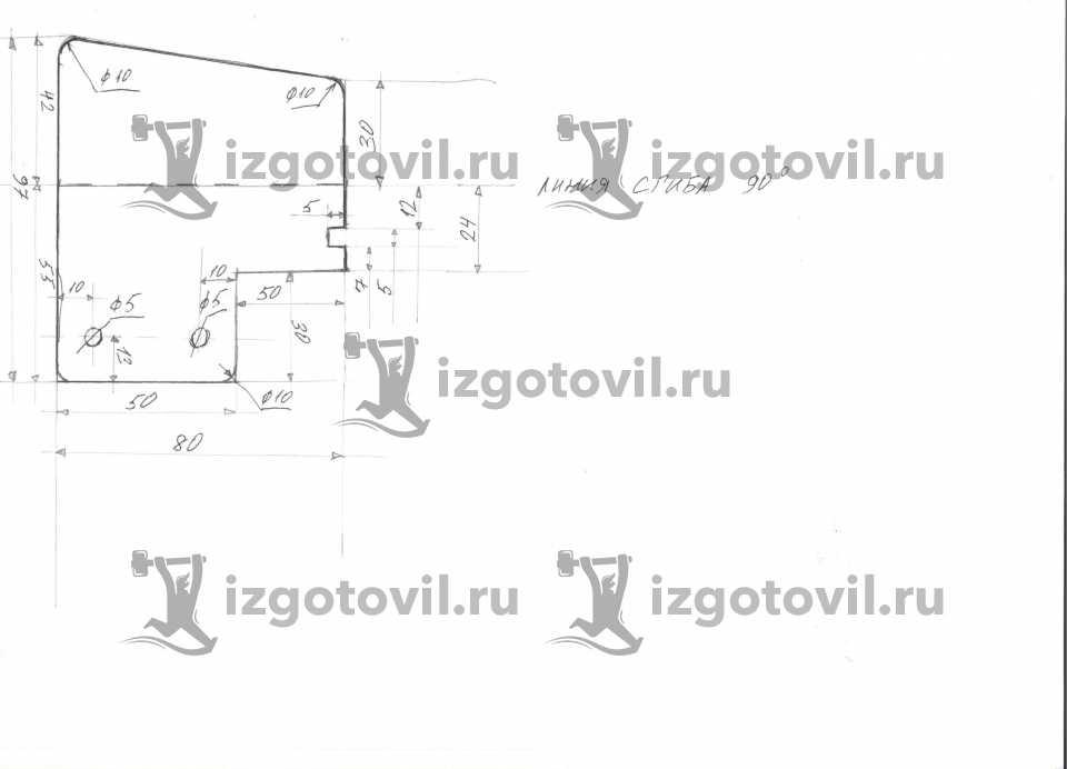 Фрезеровка - изготовить боковину