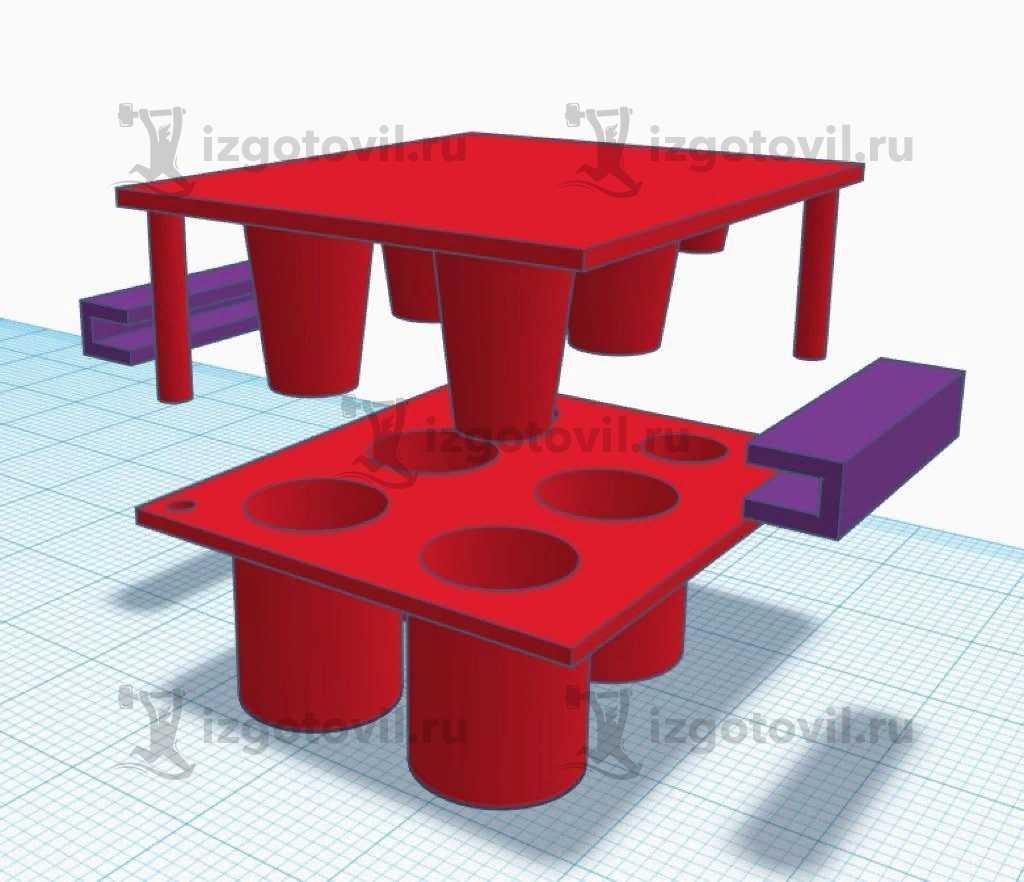 Изготовление деталей по чертежам (модель для выпекания изделий из теста).