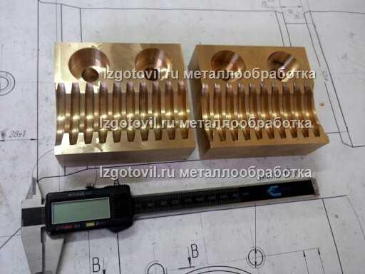 Изготовление планок БрОЦС555