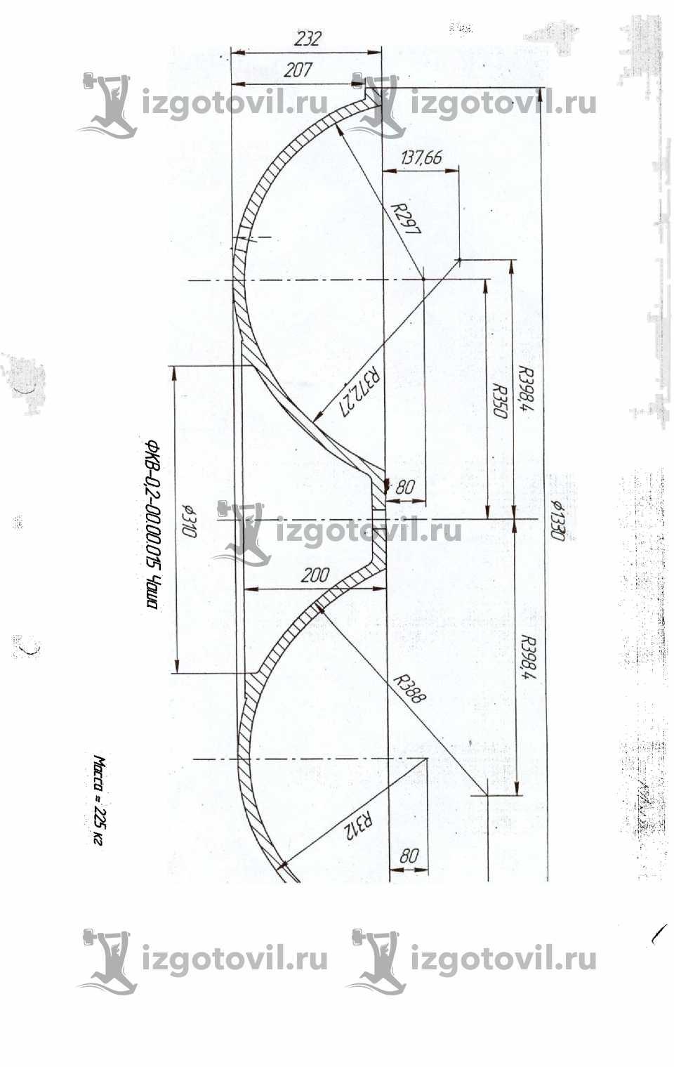 Литейное производство - изготовление чаш