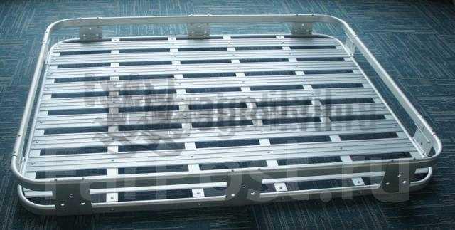 Изготовление деталей на заказ (алюминиевый экспедиционный багажник)