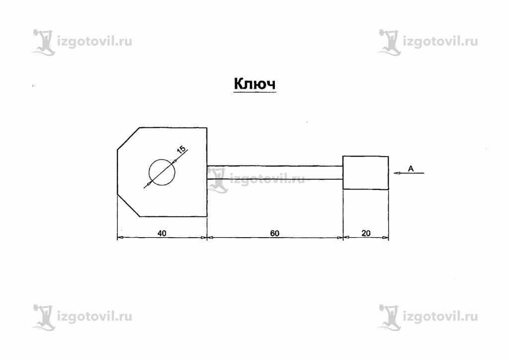 Фрезеровка - изготовление ключа