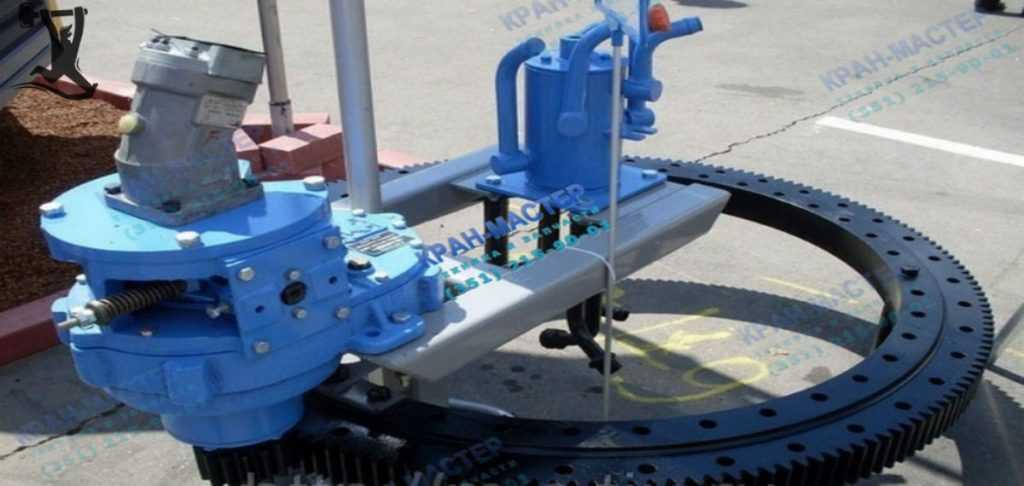 Стандартное опорно-поворотное устройство автокрана ОП-1460