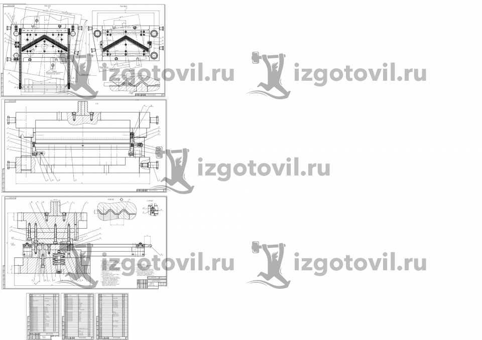 Пресс формы штампы
