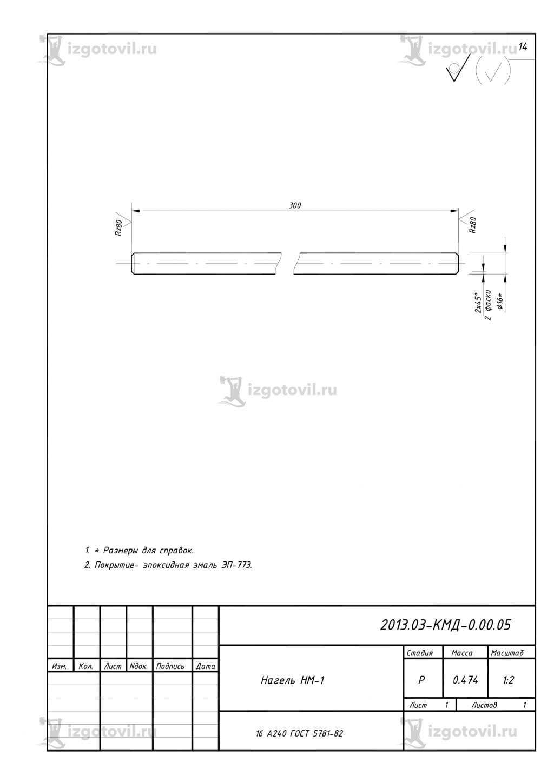 Токарная обработка деталей (шпильки, нагель)