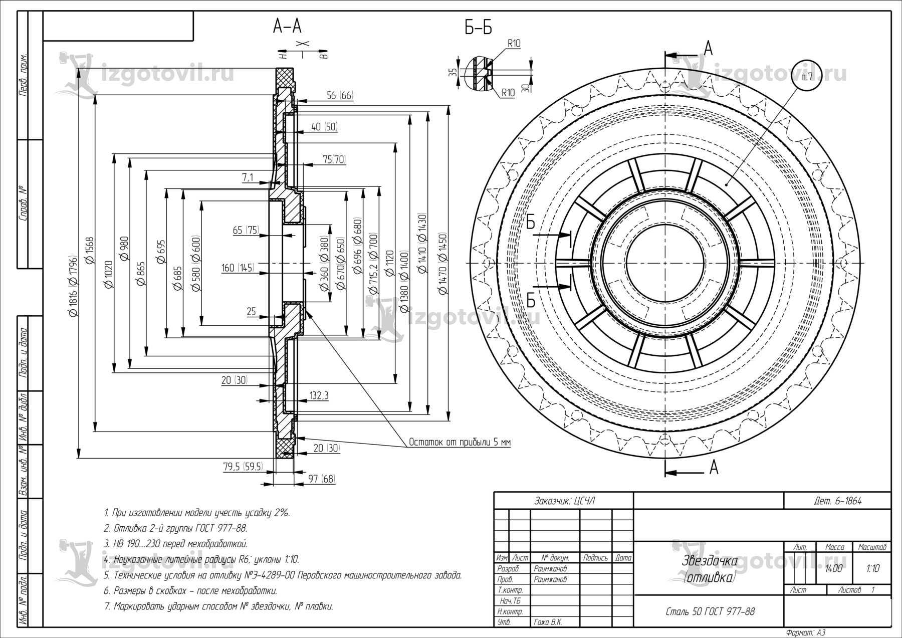 Услуги токарной обработки (токарно-карусельная обработка).