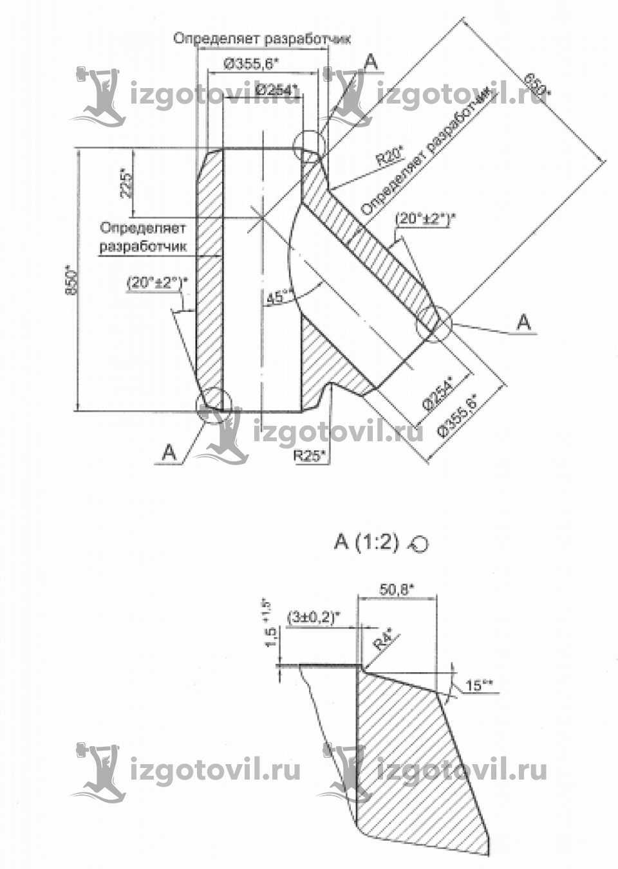Литейное производство - изготовление тройников
