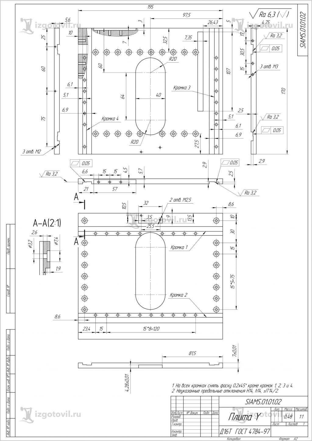 Токарно-фрезерная обработка (детали