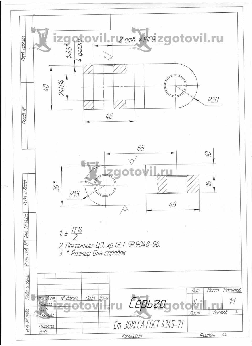 Фрезеровка металла - изготовить серьги