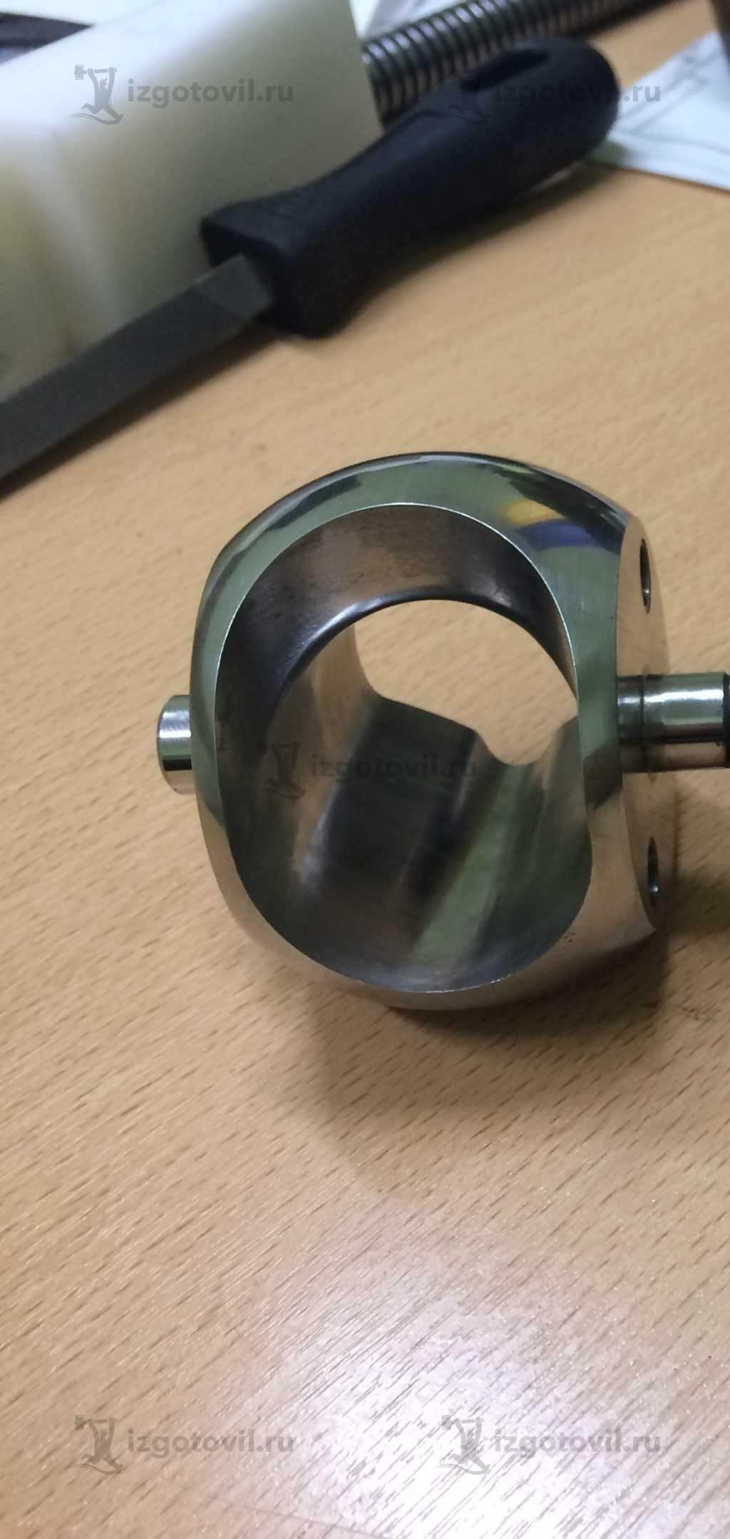 Изготовление деталей на заказ (ножи сферический и плоский)