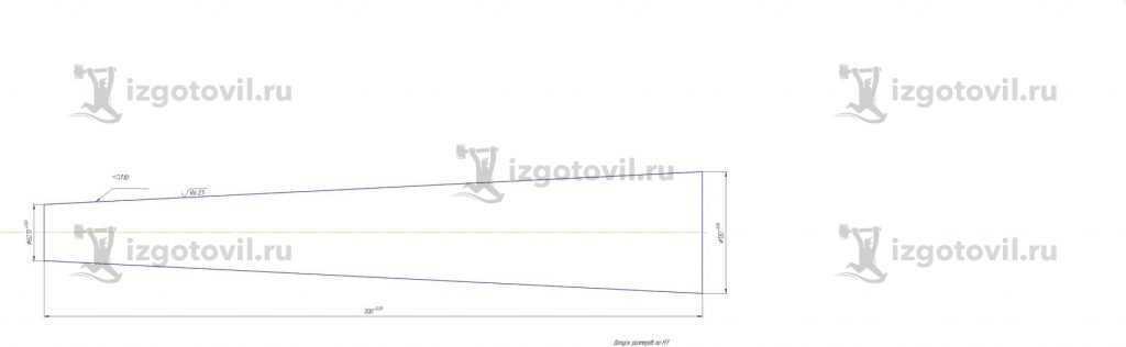 Токарная обработка деталей: изготовление конусов и втулки