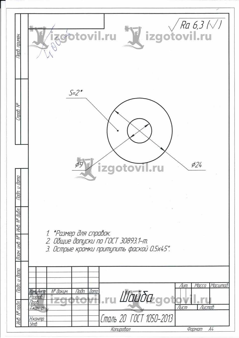 Токарно-фрезерная обработка-изготовление деталей