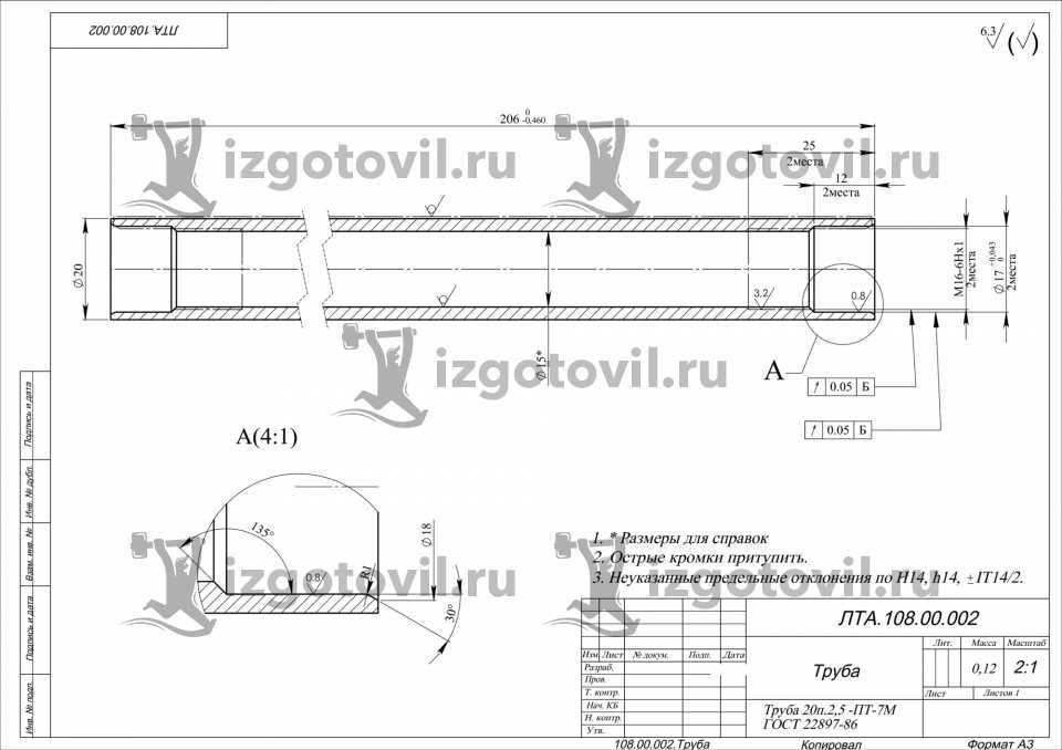 Прессовое производство - изготовление труб