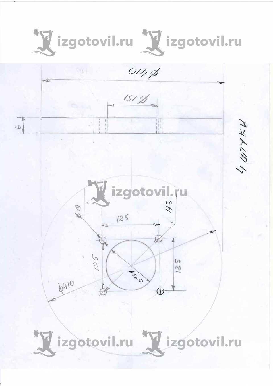 Изготовление деталей по чертежам