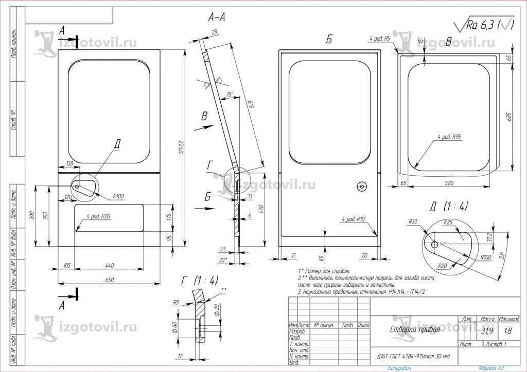Металлоконструкции (двери из жести)