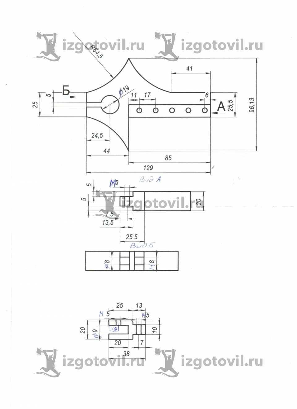 Фрезеровка - изготовление аккумуляторных клеймм