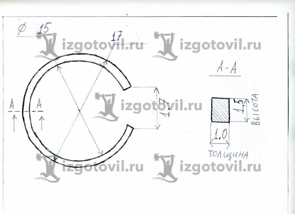 Литейное производство - изготовить кольца
