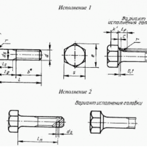 Болт ГОСТ 10602-94