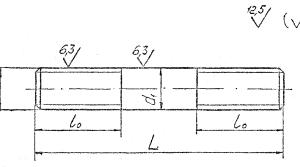 Шпилька ГОСТ 26-2040-96 для фланцевых соединений