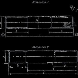 Шпилька ГОСТ 9066-75 для фланцевых соединений с температурой среды от 0 °С до 650 °С